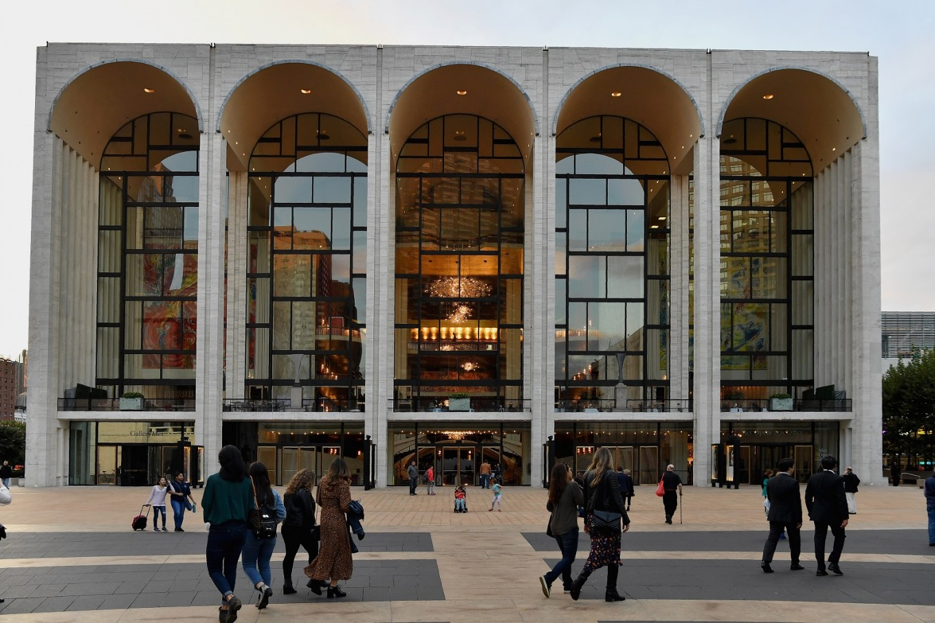 view of the metropolitan opera at lincoln center for the performing arts on october 5 2018 in new york city afp angela weiss