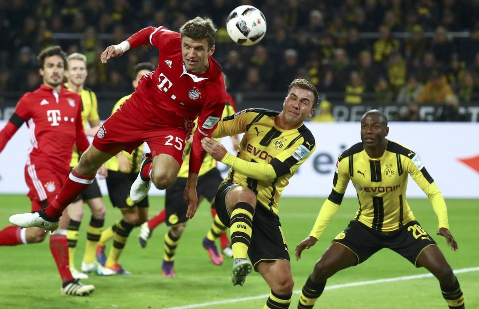 bayern renew battle with dortmund amid sane chase