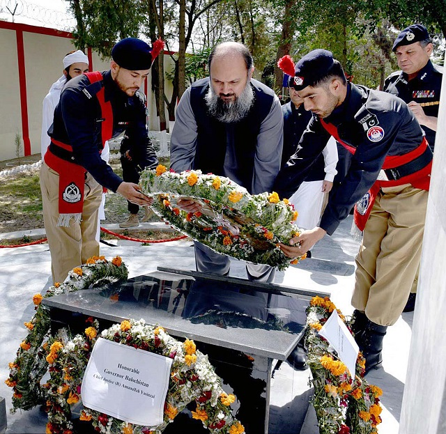 glowing tributes paid to police martyrs