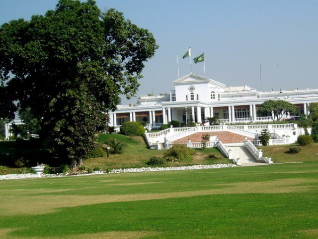 K-P Governor House. PHOTO: FILE