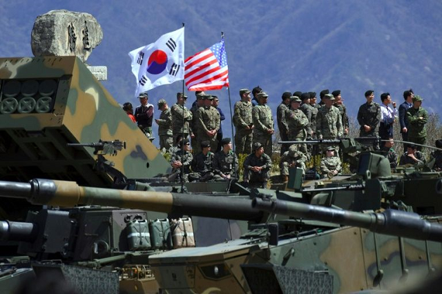 us s korea to hold drills despite pyongyang warnings