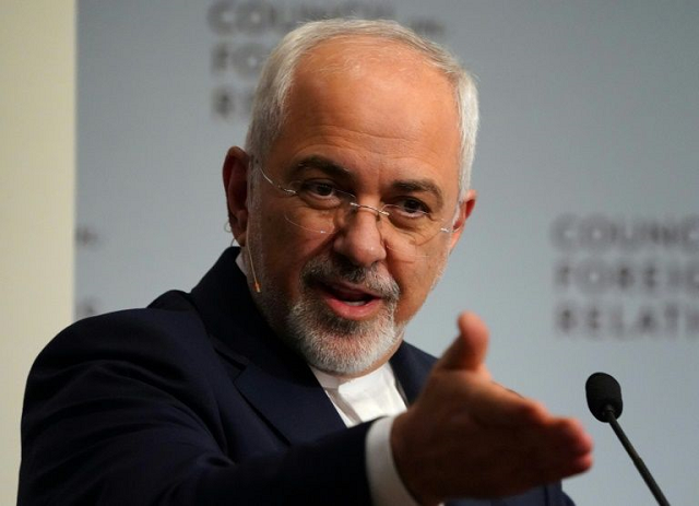 iran 039 s foreign minister mohammad javad zarif seen in this april 2018 picture says the united states brought upon themselves the crisis in the strategic gulf photo afp