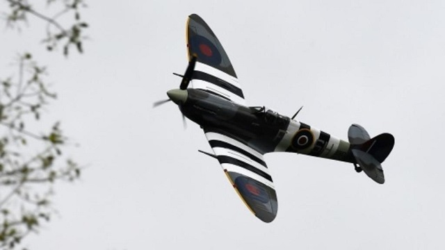 majestic wwii spitfire set for round the world flight