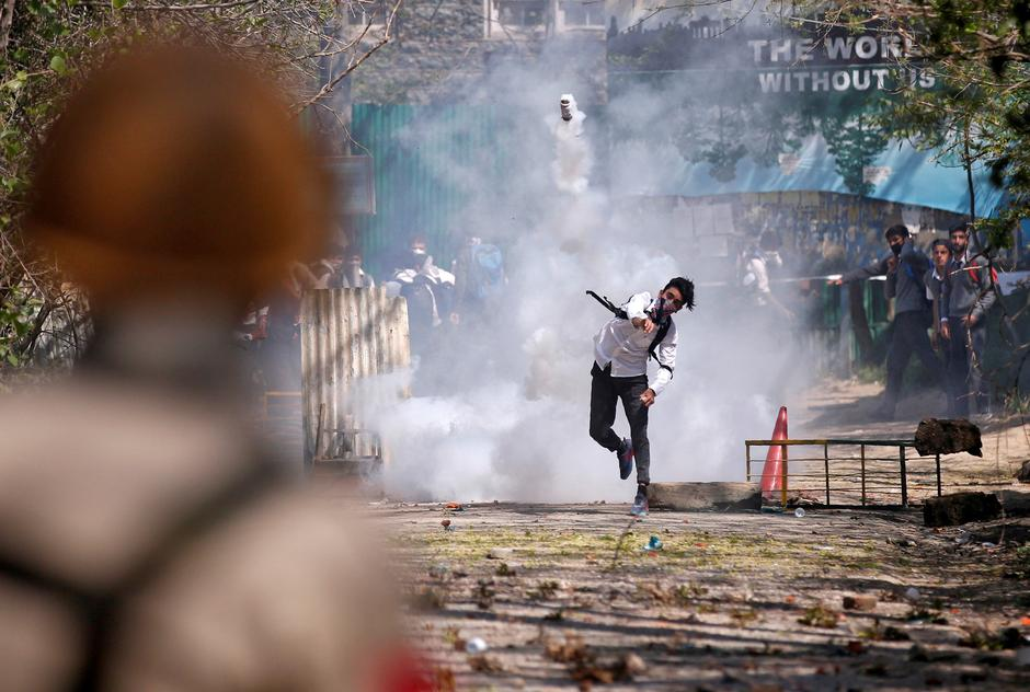 A file photo of riots in IoK. PHOTO: REUTERS