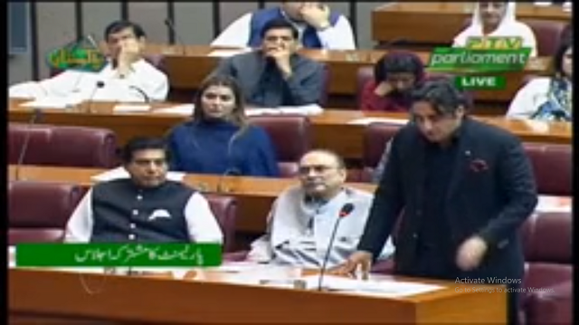 PPP chairman says Narendra Modi is playing with fire in Indian Occupied Kashmir. SCREENGRAB: PTV