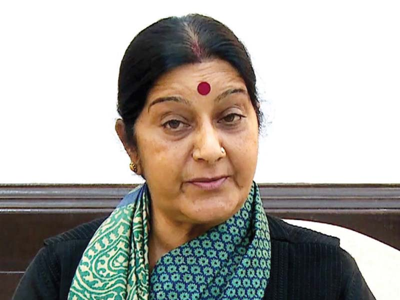 india s ex foreign minister sushma swaraj passes away