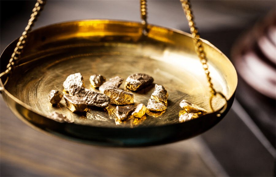 Gold. PHOTO: REUTERS