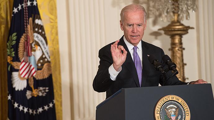 Joe Biden. PHOTO: AFP