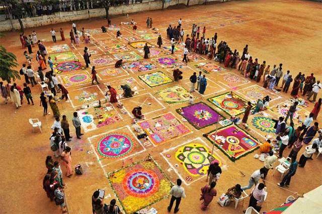 south india s kolam art helps women map business opportunities