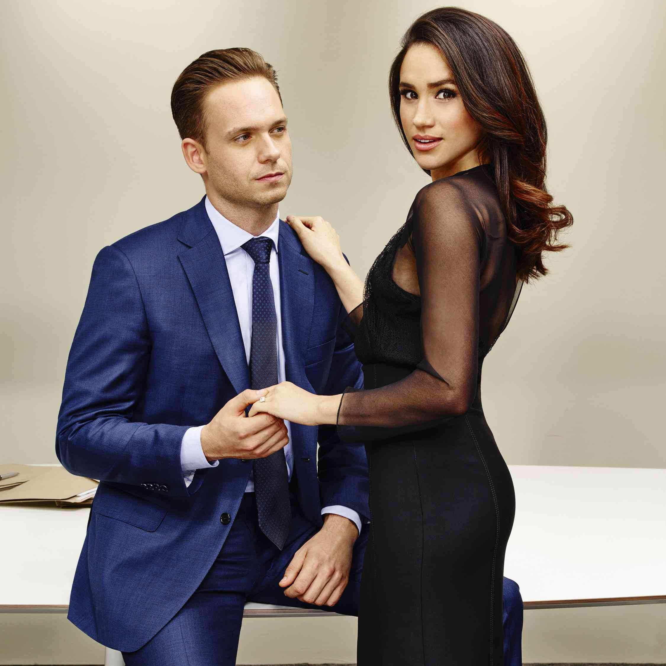 suits makes reference to meghan markle s new life