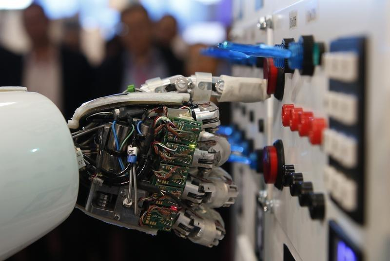 The research centre, which has two laboratories operating under it - a Smart City Lab and a Neuro Computation Lab, has several completed and on-going projects under its belt. PHOTO: REUTERS