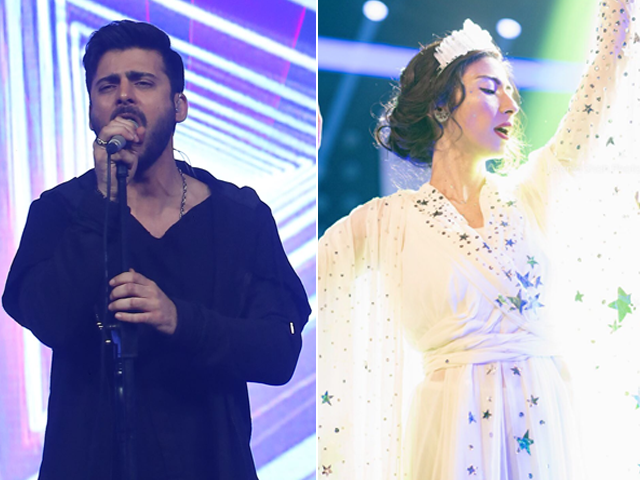 twitter reacts to fawad khan meesha shafi s bob performances