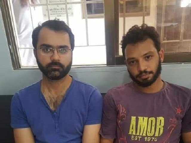 daniyal and zubair are the two main accused in the lynching of 17 year old rehan photo twitter