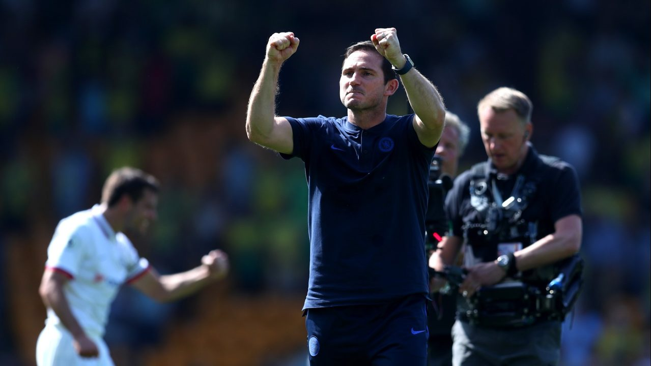 chelsea s first win is child s play for lampard