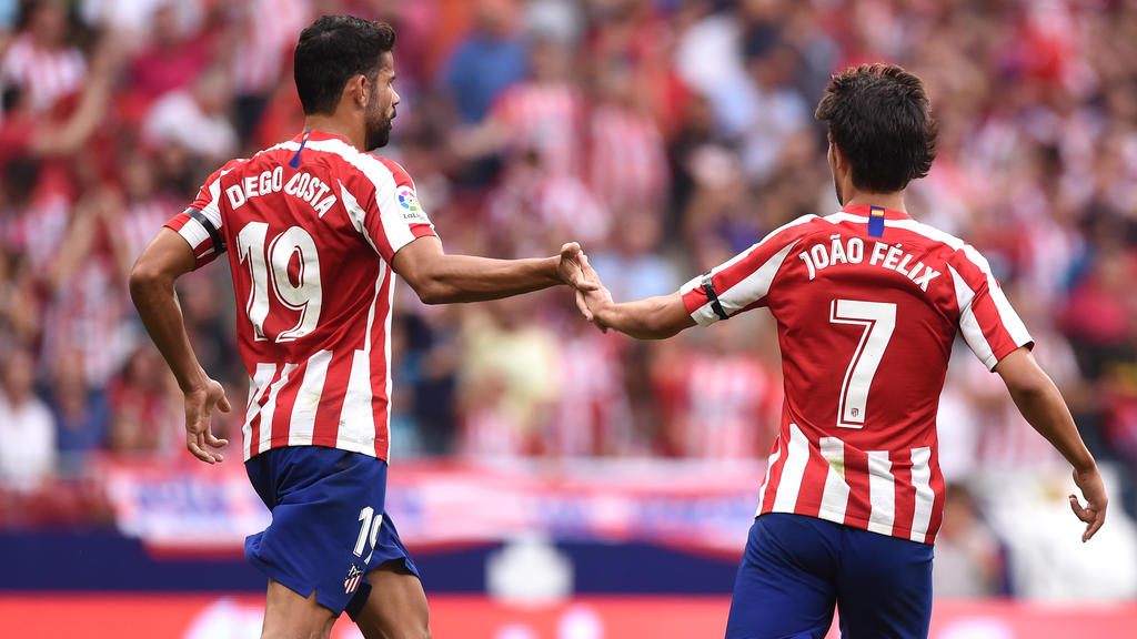 felix on target as atleti beat eibar to go five points clear of barca