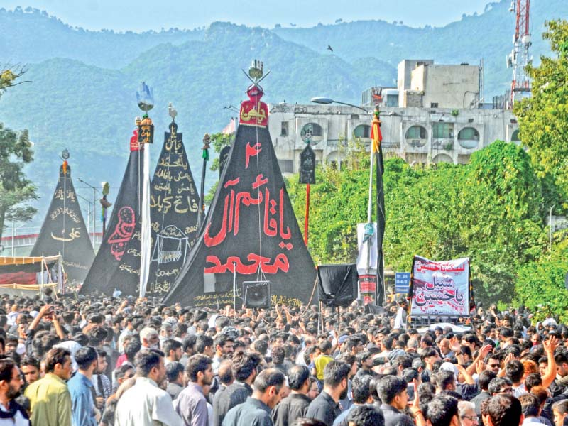 traffic plan issued for muharram 6