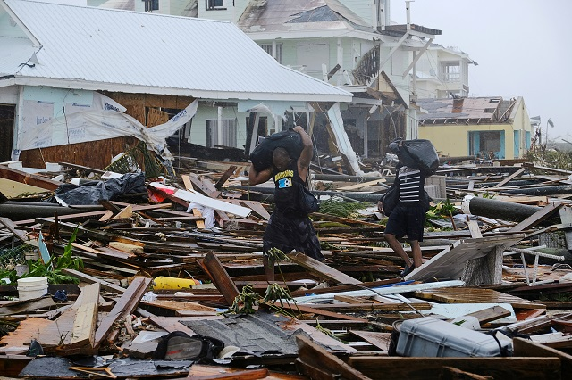 Damage in the aftermath of Hurricane Dorian on the Great Abaco island town of Marsh Harbour, Bahamas. PHOTO: Reuters