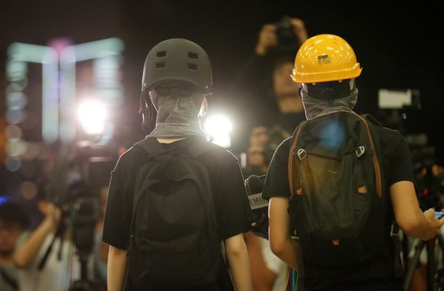 protesters hold a news conference in hong kong china september 4 2019 photo reuters
