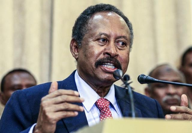 sudan pm unveils first post bashir cabinet
