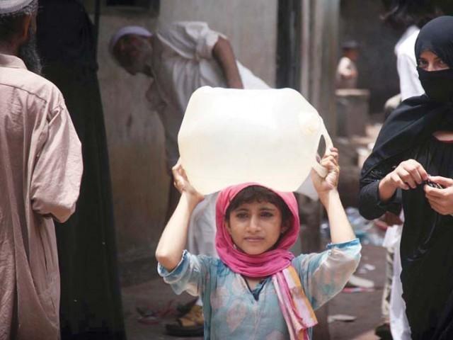 bakhtiar for resolving karachi s water issue