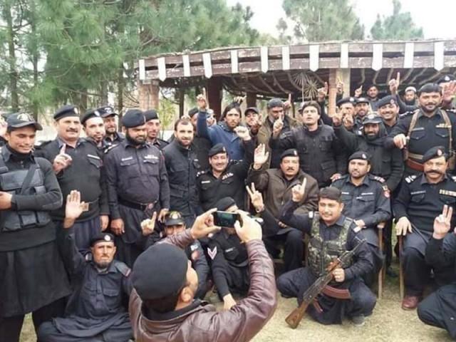 khasadars demand parity with k p police