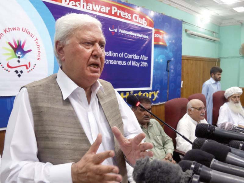 sherpao urges calm over afghan peace talks