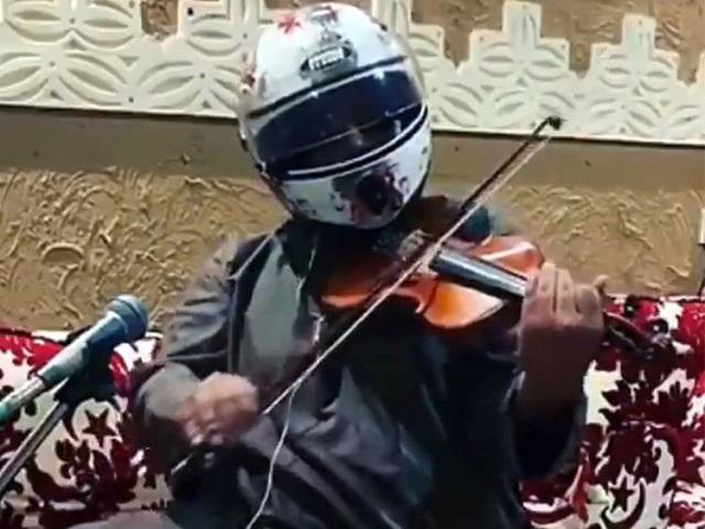 watch saudi arabia on the hunt for anonymous helmet musician