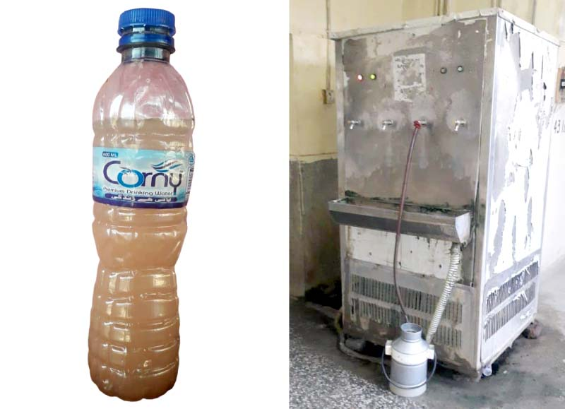 su students are provided muddy water to drink and use for other chores most filtration units fixed to the water coolers in the hostels are non functional photos express
