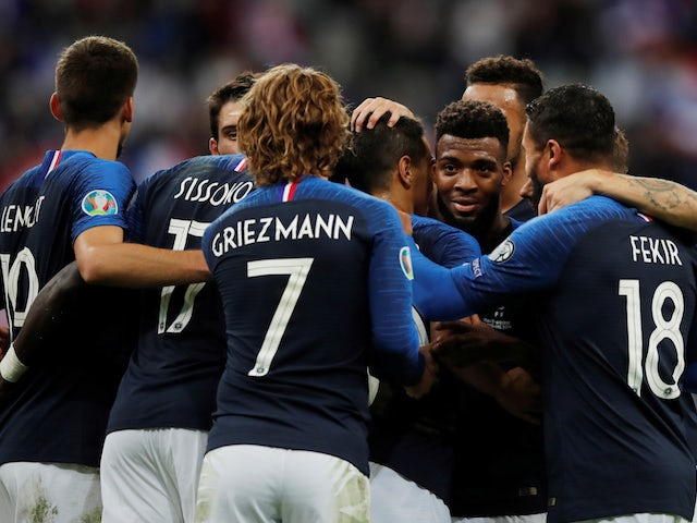 france ease past andorra as griezmann misses from spot again