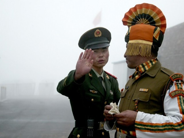 chinese indian troops scuffle along lac as tensions escalate