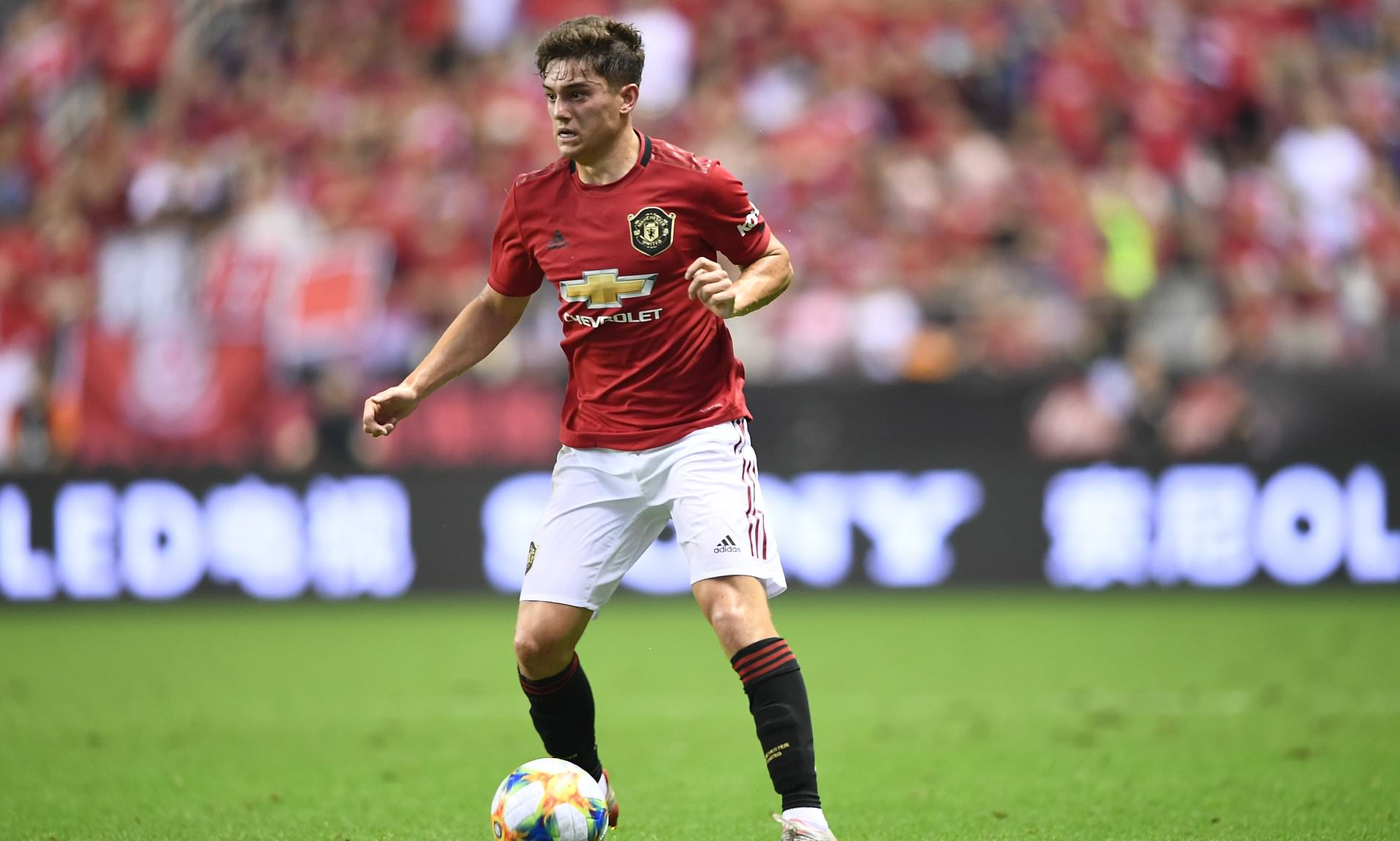 james hits ground running united not yet up to speed
