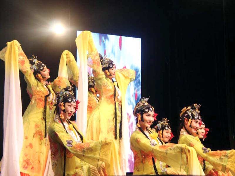 chinese troupe brings ancient art to life