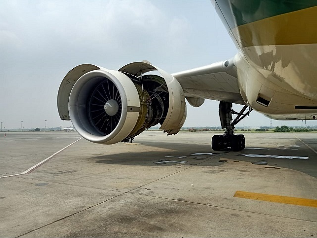 jeddah bound pia flight makes emergency landing at lahore airport