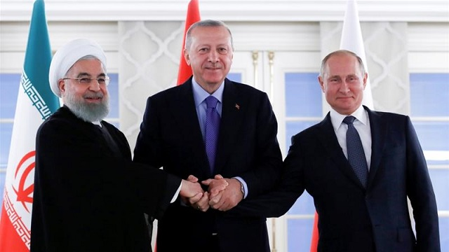 turkey russia iran must take more responsibility for syria peace erdogan