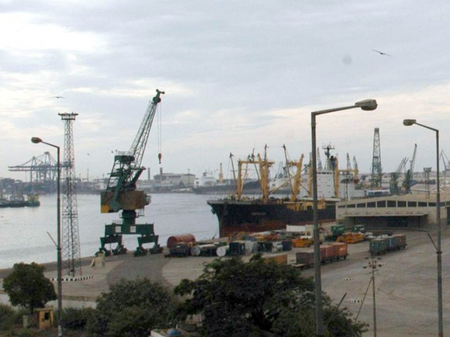 Port Qasim. PHOTO: EXPRESS