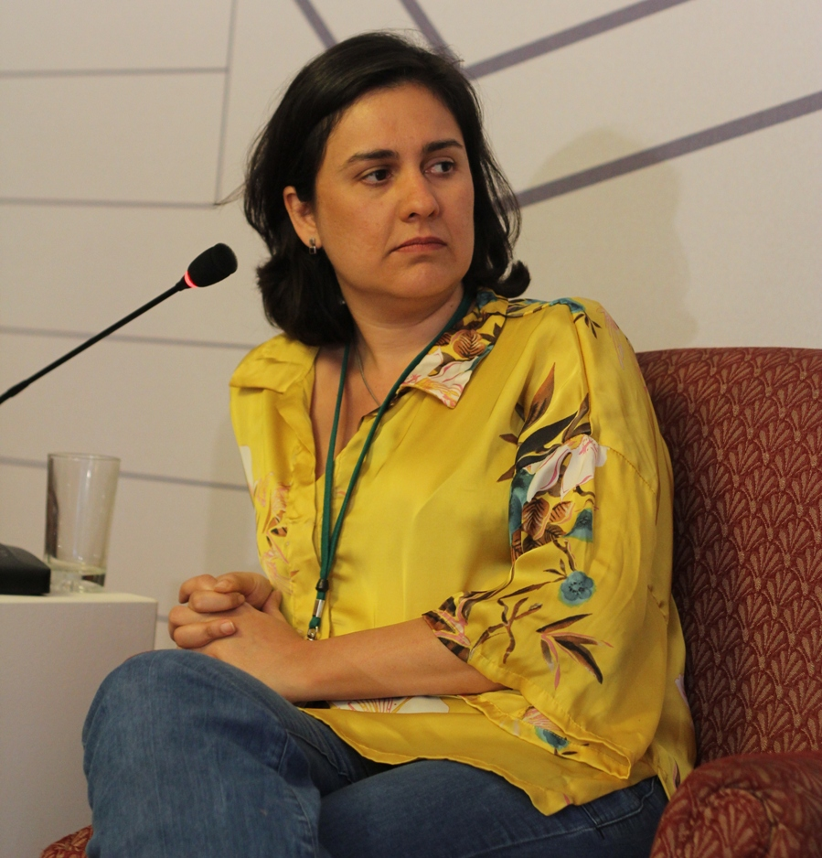 Kamila Shamsie at Karachi Literature Festival 2013. PHOTO:AYESHA MIR/EXPRESS