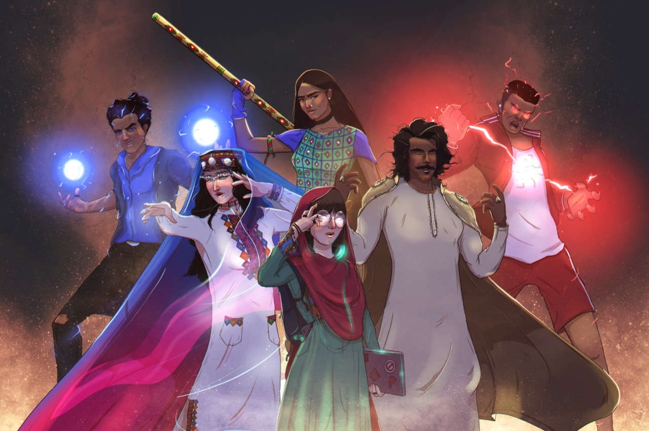 these pakistani superheroes have been patrolling the streets of social media