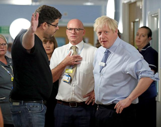 uk s johnson caught lying to dad of sick child on hospital visit