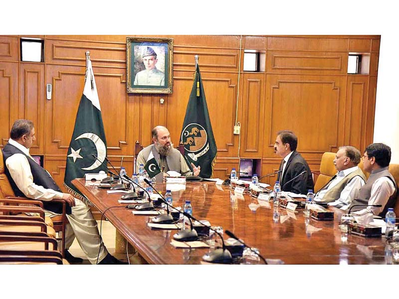 cm balochistan vows to ensure transparency in departments