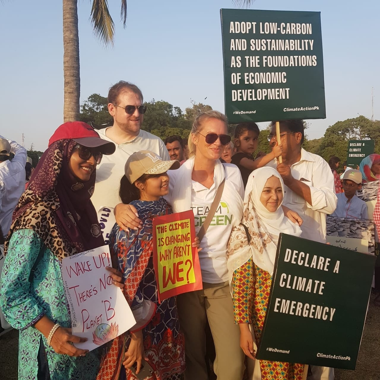 celebrities march for climate change