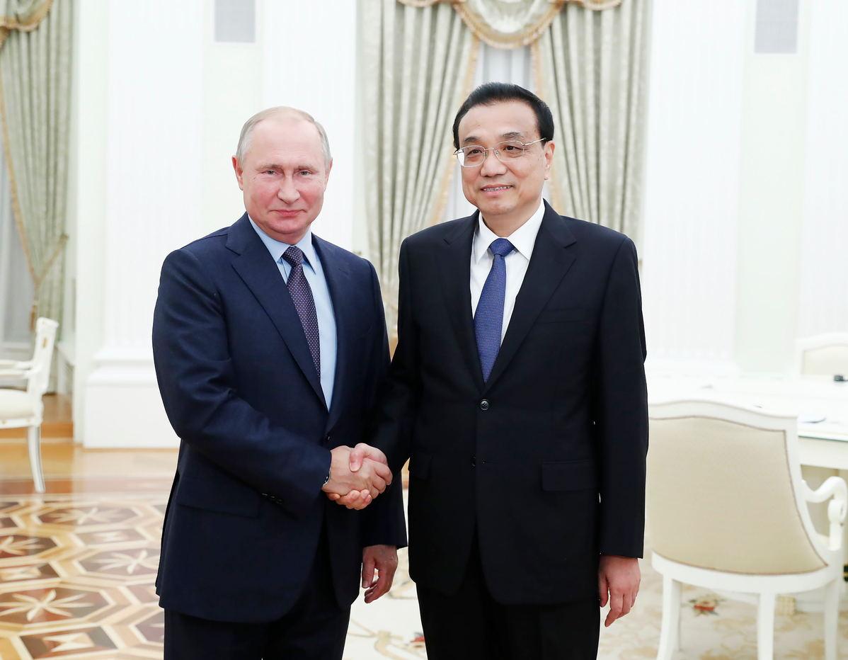 closer sino russian ties to bring prosperity