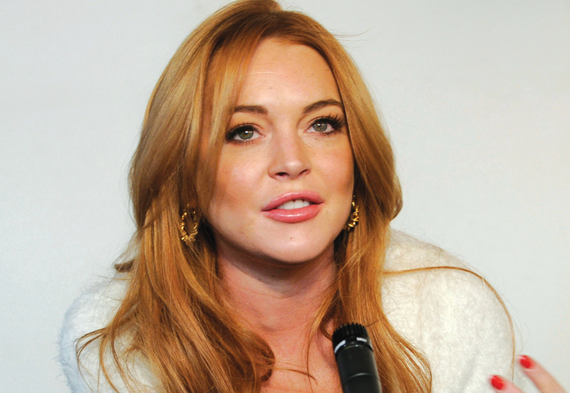 lindsay lohan confirms she s been dumped