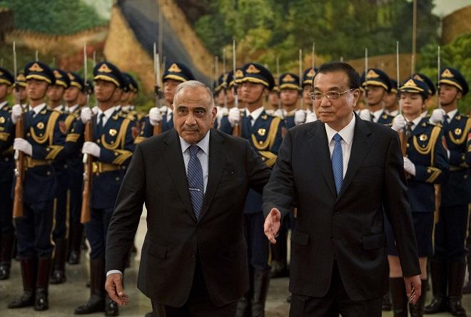 iraq to join china s belt and road project