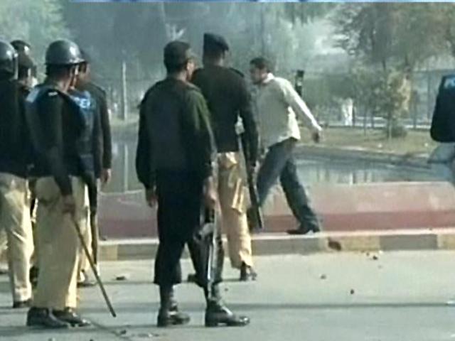 three students injured as rival groups clash at punjab university