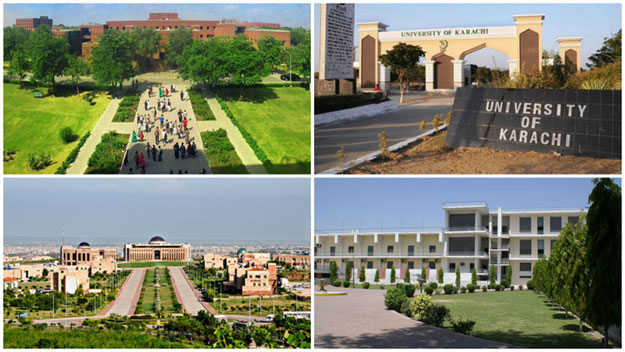 seven pakistani varsities among top 1 000