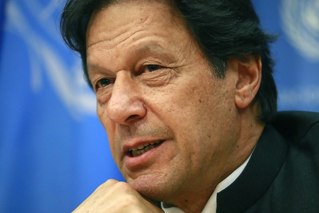 PM Imran Khan. PHOTO: REUTERS