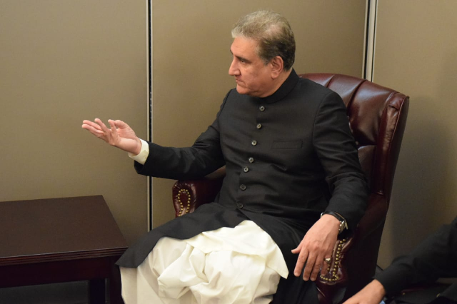 india s actions in occupied kashmir inching towards the unthinkable fm qureshi