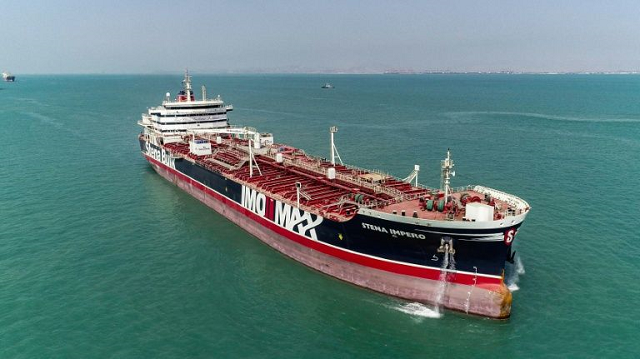 british flagged tanker heads into dubai port after iran release