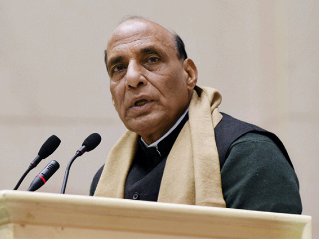 Indian Defence Minister Rajnath Singh. PHOTO: REUTERS