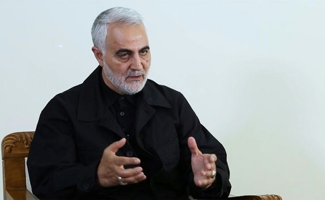 Major General Qassem Soleimani heads the elite Quds Force of Iran's Revolutionary Guards which runs foreign operations. PHOTO: AFP